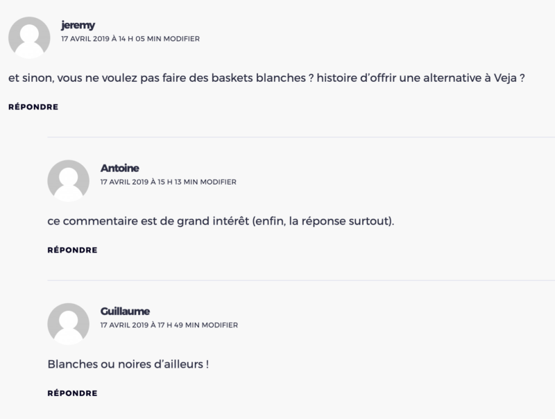 basket blanche loom commentaire client