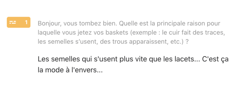 loom basket blanche commentaire client