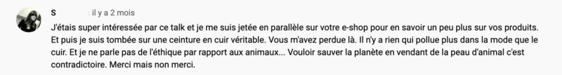 loom cuir commentaires youtube